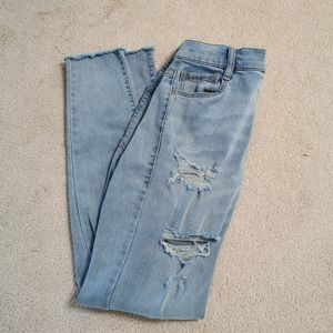 Garage riped high waisted Jeans